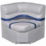 DeckMate Pontoon Corner Seat 28in