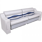 DeckMate Pontoon Seats 90in with Two Benchs a Left and Right Arm